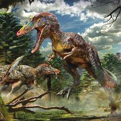 Qianzhousaurus pictures